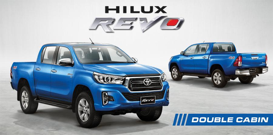 Brand New Toyota Hilux Revo Pickups