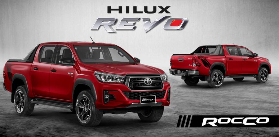 Brand New Toyota Hilux Revo Rocco Pickups