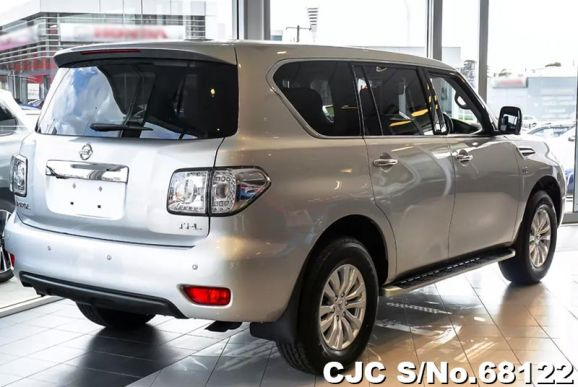 back side Nissan Patrol 2018