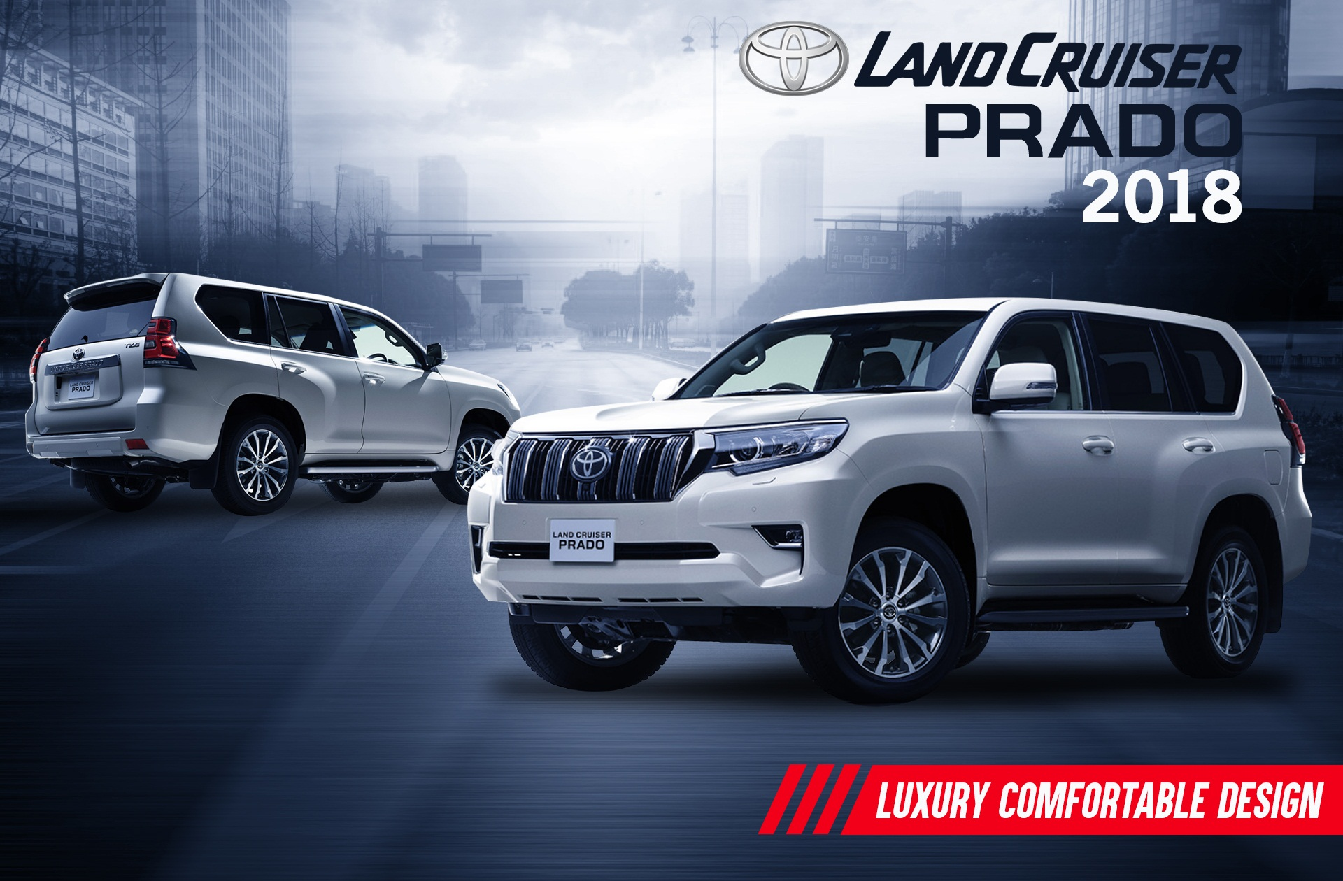 Brand New Land Cruiser Prado
