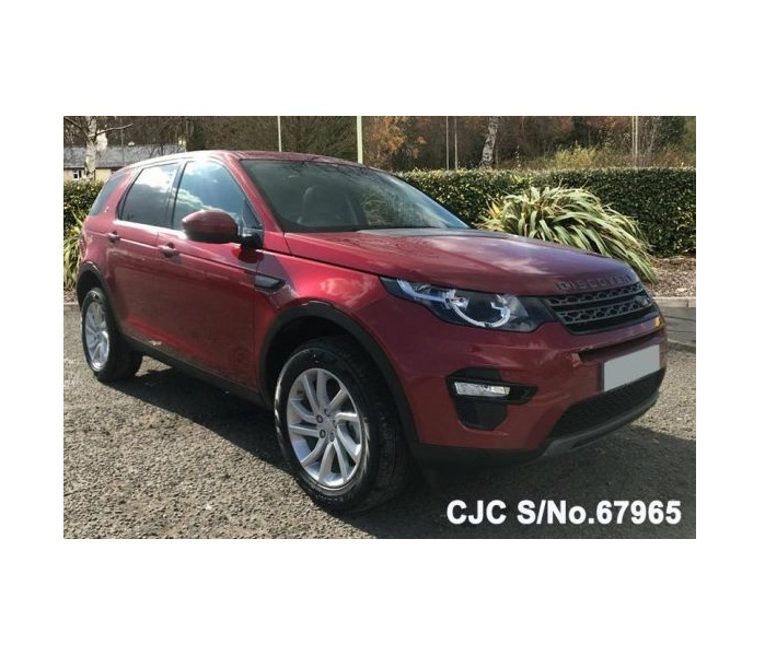Land Rover Discovery Red Automatic