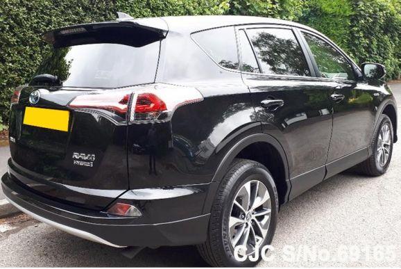 Toyota Rav4 Black Automatic 2016