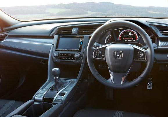 Honda Civic Hatchback 2019- cockpit