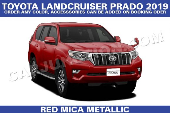 Land Cruiser Prado Black Automatic 2019