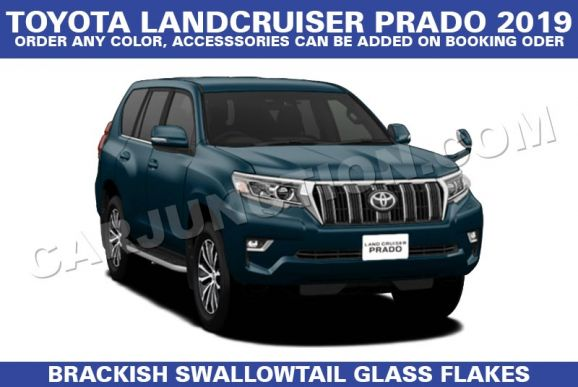 Land Cruiser Prado Black Automatic 2019