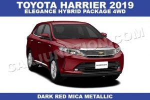 Toyota Harrier Hybrid Automatic 2019