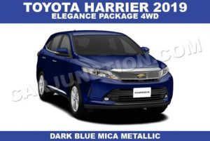 Toyota Harrier Automatic 2019