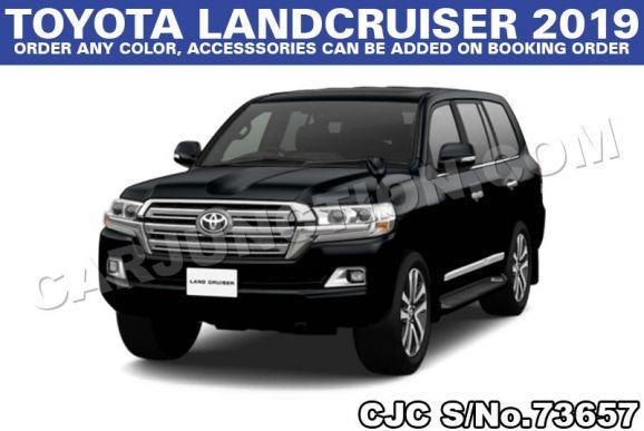 Toyota Land Cruiser 4.6L Petrol 2019