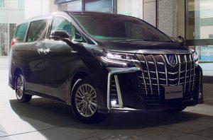 2019 Toyota Alphard for Diplomats