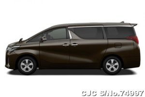 Toyota Alphard Graphite Metallic Automatic 2019