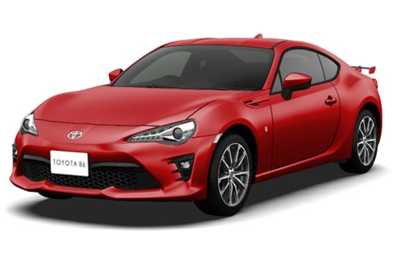 BRAND NEW TOYOTA 86 COUPE